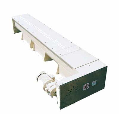 Transportoare cu snec elicoidale cu jgheab pentru mori de macinat grau - Proconsil Grup - motoreductoare.ro