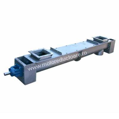 Transportoare cu snec elicoidale pentru aplicatii cu temperaturi ridicate - Proconsil Grup - motoreductoare.ro