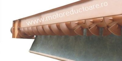 Transportoare cu snec elicoidale pentru beton proaspat - Proconsil Grup - motoreductoare.ro